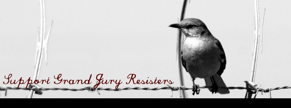 SUPPORT GRAND JURY RESISTERS